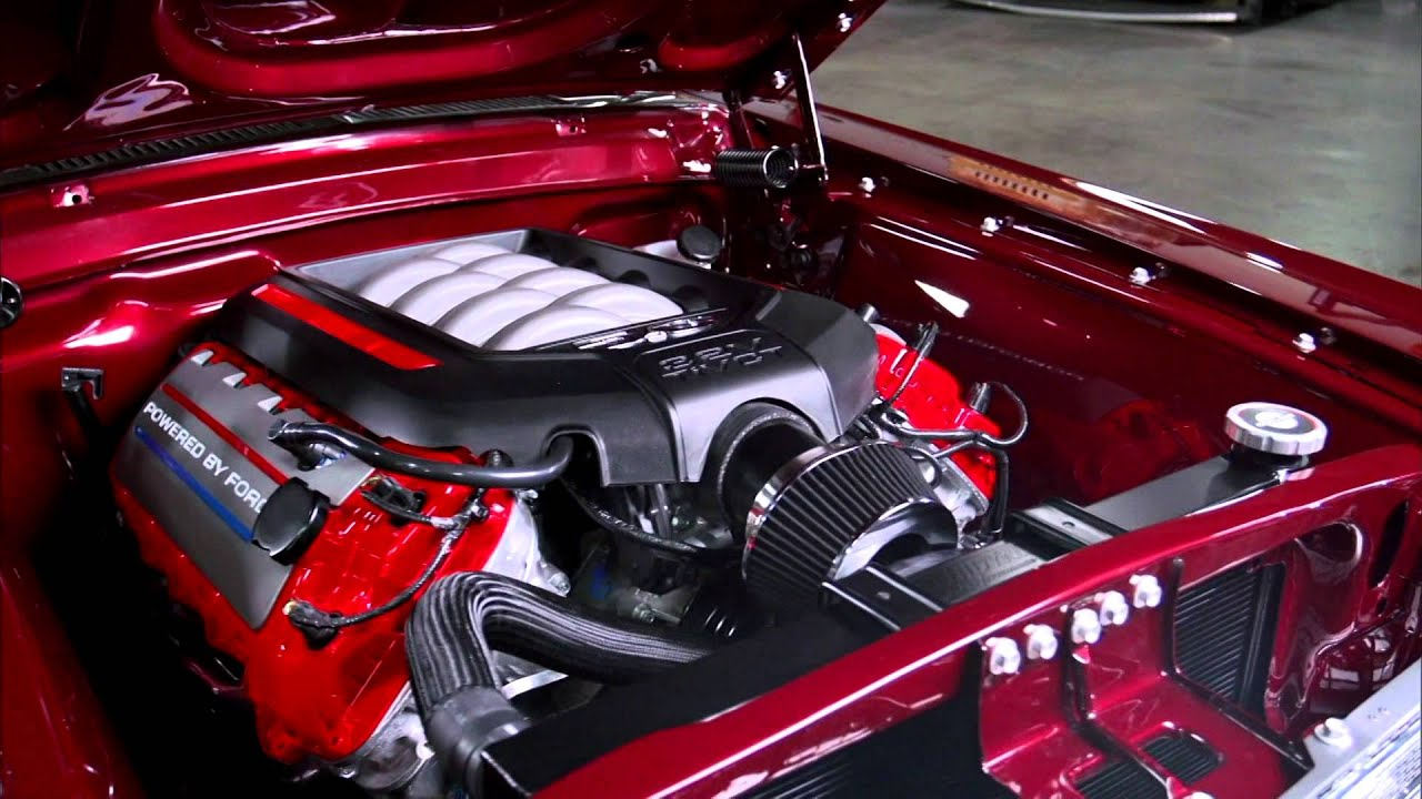 Overhaulin  Foose finishes a 68 Mustang  YouTube