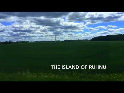 The island of Ruhnu. Estonia