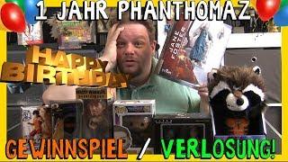 MEGA GEWINNSPIEL - 1 Jahr Phanthomaz - Dankeschön Verlosung    Fette Preise! Mitmachen! - Gewinnen
