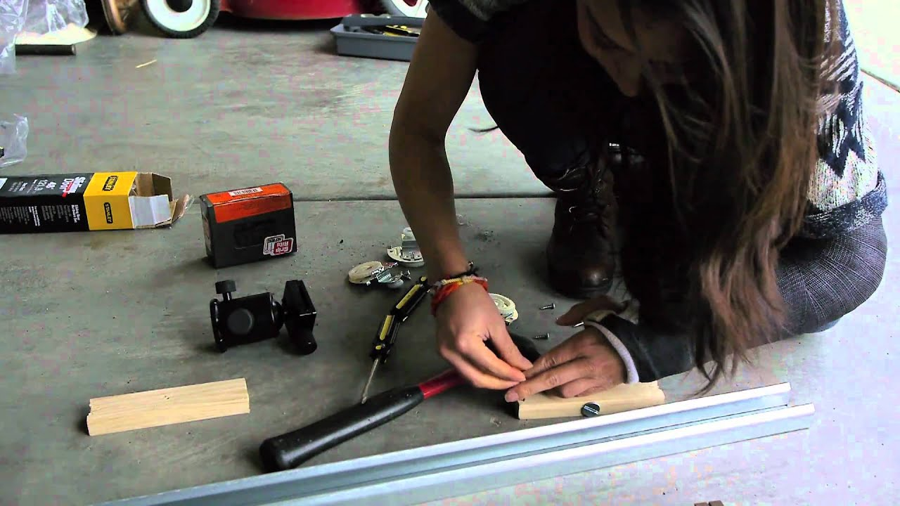 build a cheap diy camera slider for under 60 with a closet door track youtube