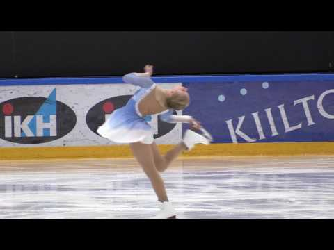 Figure Skating Senior Ladies Free Skating Viveca Lindfors