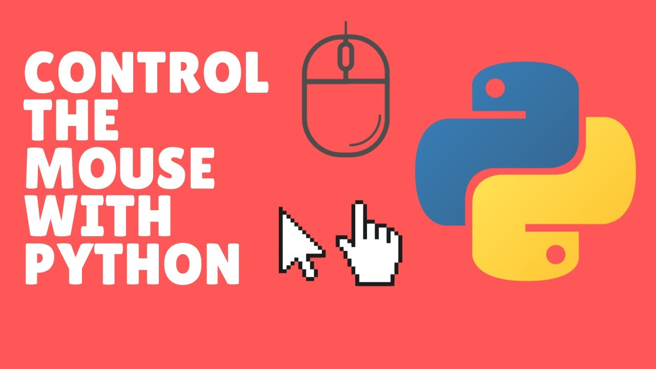 How to Control the Mouse with Python in 2020! EASY & FAST(Pynput)