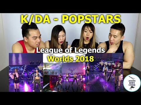 POP/STARS - Opening Ceremony Presented by Mastercard | Finals | 2018 World Championship | Reaction