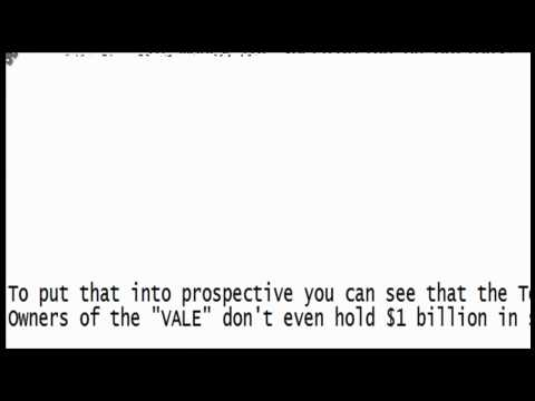 Massive Call Options $2B Purchased On Vale S.A. (VALE) Brazil Steel & Iron Producer Basic Materials