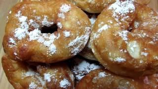ПОНЧИКИ из СТАКАНА ВОДЫ | КАК В ДЕТСТВЕ | Лучший Рецепт Пончиков в Домашних Условиях