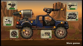 Earn To Die V1 / Zombie Car Games / Browser Flash Games / Gameplay Video