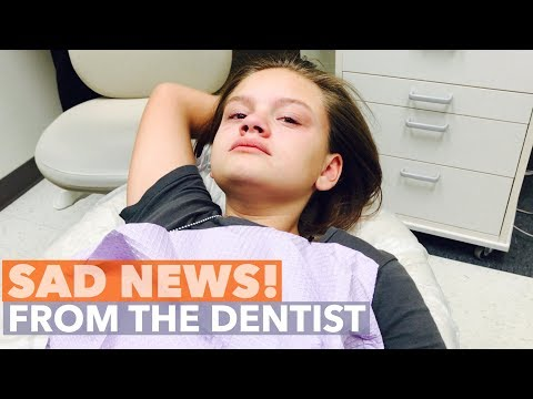 SAD NEWS! SHE WAS AFRAID THE DENTIST WOULD SAY THAT!