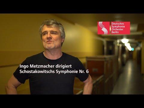 Ingo Metzmacher dirigiert Schostakowitschs Symphonie Nr. 6