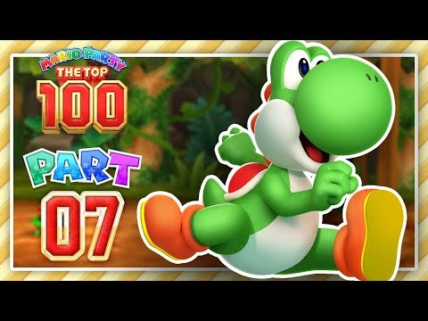 Mario Party The Top 100 - Part 7 - Jump Yoshi Jump!