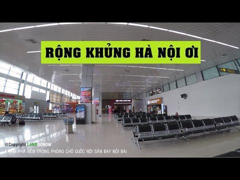 Bật mí phòng chờ quốc nội sân bay Nội Bài - Land Go Now ✔