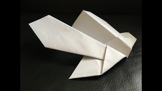 Advance Paper Plane Construction - Super Stunt Plane