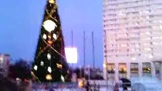 Площадь Пять Углов в Мурманске перед Новым годом-2018