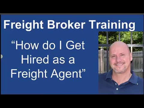 How to Get Hired as a Freight Agent with NO Experience!