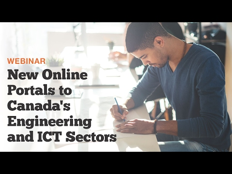 New Online Portals to Canada's Engineering and ICT Sectors (Webinar)