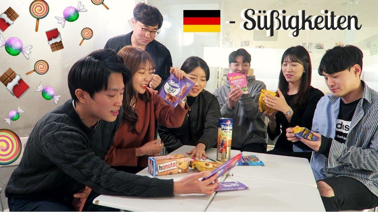 Download Koreaner probieren 🇩🇪 deutsche Süßigkeiten 🍫 🍬🍭