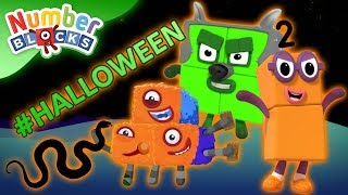 Numberblocks - #Halloween Special | Spooky Numbers | Learn to Count