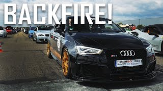 AUDI RS3 8V by THT Performance: LOUD BACKFIRE!
