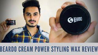 Beardo Cream Power Styling Wax Review | Better Than Urban Gabru?