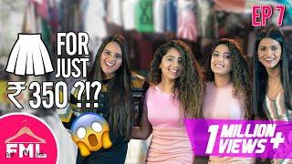 LIT | Budget Makeover in 1500 ft Chinki Minki | Ananya Panday look in GK M Block Market | FML #7