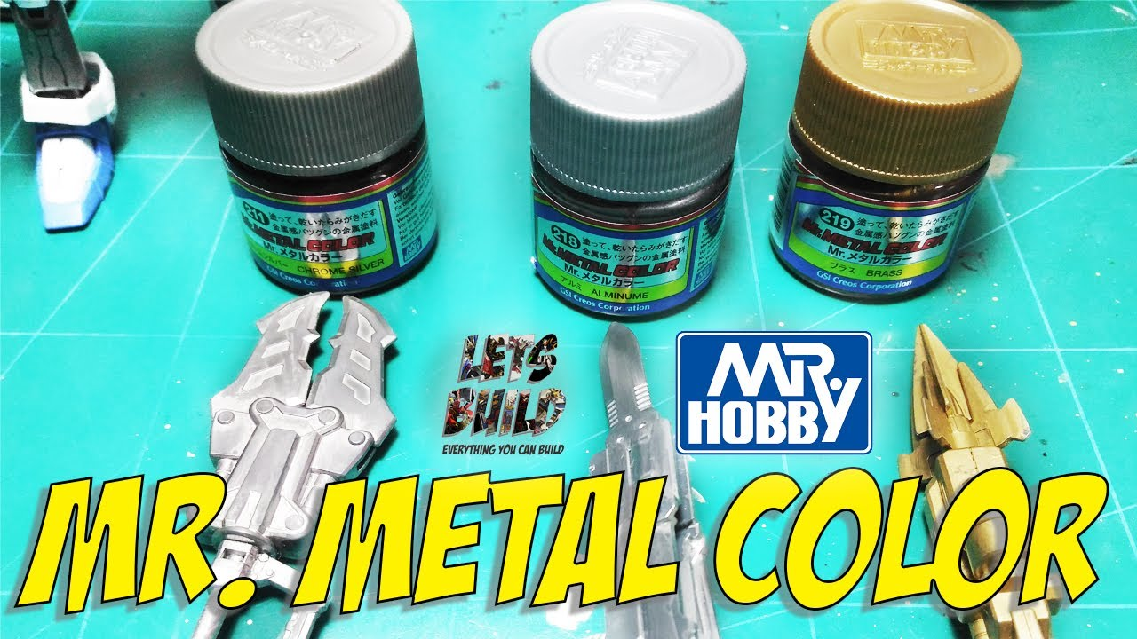 Tutorial mr metal color by mr hobby using hand brush chrome tutorial mr metal color by mr hobby using hand brush chrome silver aluminum brass geenschuldenfo Gallery