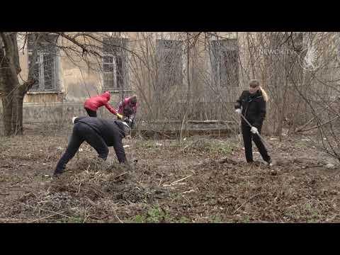 Телеканал Новий Чернігів: Територію садка прибрали| Телеканал Новий Чернігів