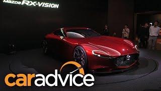 Mazda RX-Vision Concept 2015 Videos