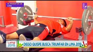 Diego Quispe busca triunfar en los Juegos Parapanamericanos Lima 2019