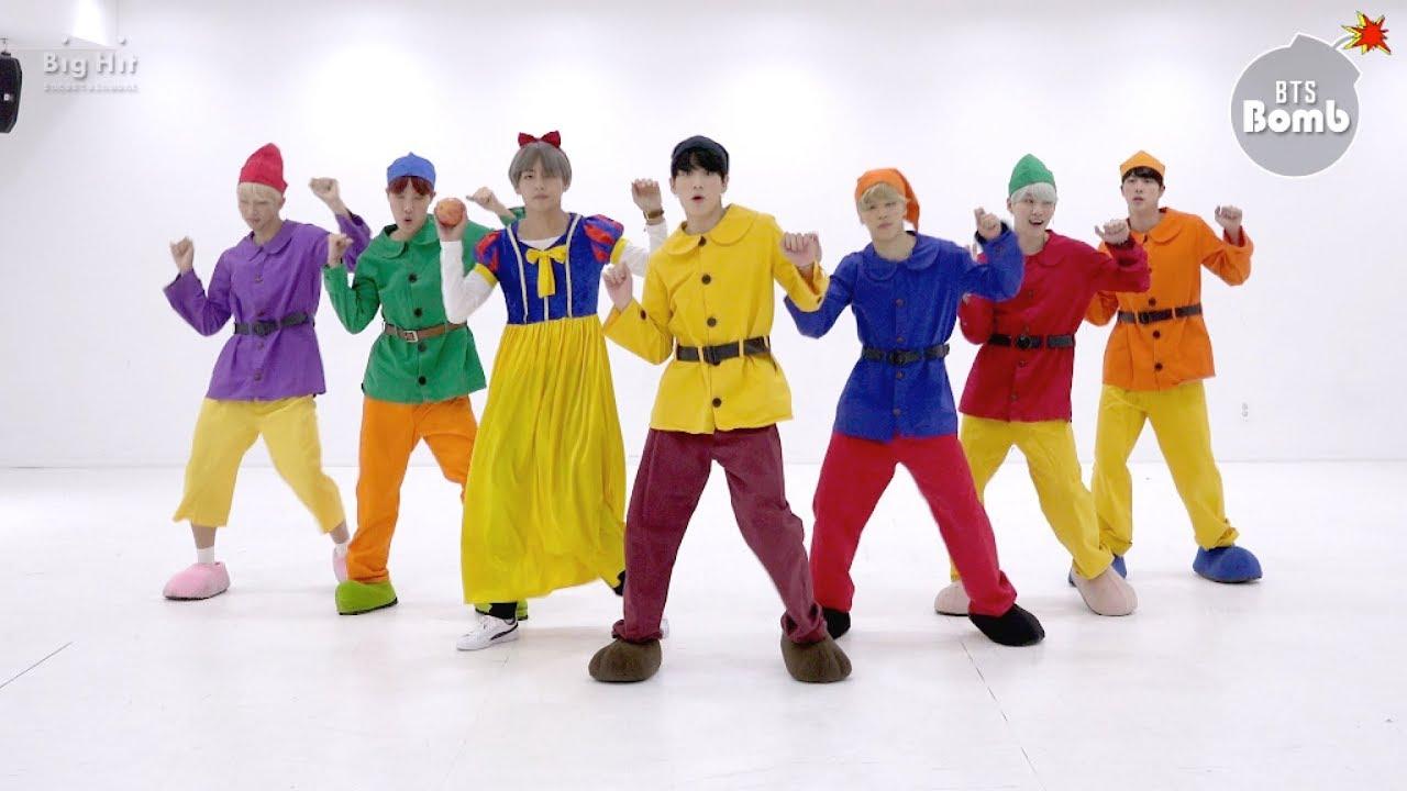 [BANGTAN BOMB] '고민보다 GO (GOGO)' Dance Practice (Halloween ver.) - BTS (방탄소년단)