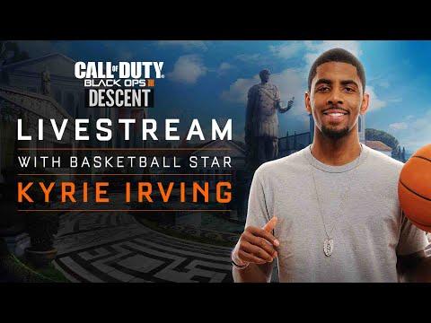 NBA Champion KYRIE IRVING Plays Black Ops 3 Descent DLC w/ Me, TypicalGamer & Swiftor