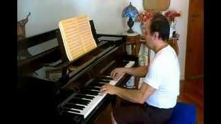 arnaldo rebello choro na amaralina e lundu do titio joca/ musicas folclore amazonense/ piano solo