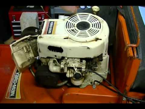 Small Engine Repair: How to get a Tecumseh Lawn Mower Started Part 2 of 3