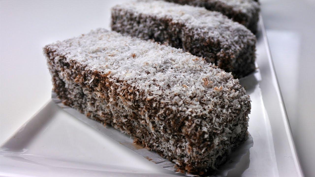 حلوة الساندو الجزائرية بالشوكولا وجوز الهند سهلة واقتصادية - حلويات طبخات ياسمين