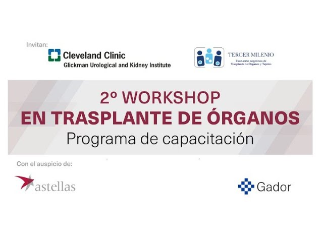 Debate día 1 Workshop en Trasplante de Órganos