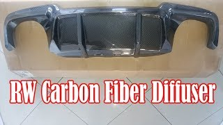 How to install Carbon Fiber Diffuser on BMW F10 M5