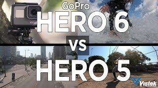 GoPro HERO 6 vs HERO 5