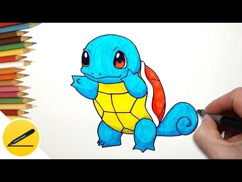 видео: Как Нарисовать Покемона Сквиртл | Рисуем Сквиртла поэтапно
