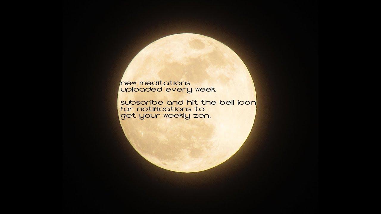 Full Moon Chakra Ritual Meditation - YouTube