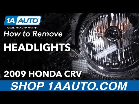 How to Replace Headlights 07-11 Honda CR-V
