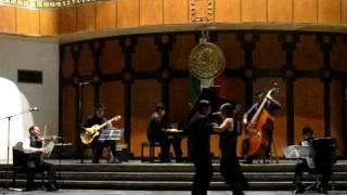"""Valeria Vega y Horacio Rosso- Tango """"Gallo Ciego"""" Lotería Nacional"""