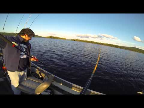 Fishing For Monster Maine Lake Trout (Togue)