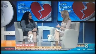 Attorney Deanne Arthur talks with CBS 8 San Diego regarding Divorce and Tax Consequences
