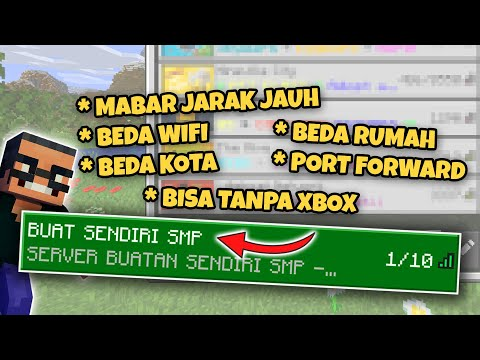 cara-membuat-server-minecraft-pe-online-|-cara-mabar-minecraft-jarak-jauh-|-port-forward-mcpe