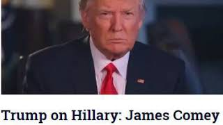 Trump on Hillary: James Comey 'Was The Best Thing That Ever Happened to Her!'