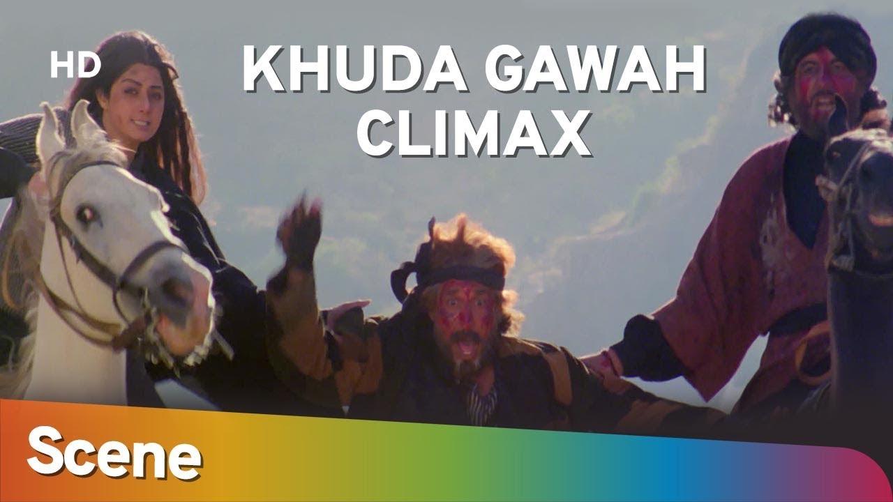 Download Khuda Gawah Climax Scene | Amitabh Bachchan | Sridevi | Superhit Bollywood Movie