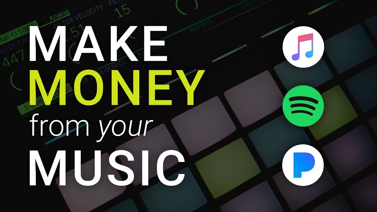 how can you make money with music