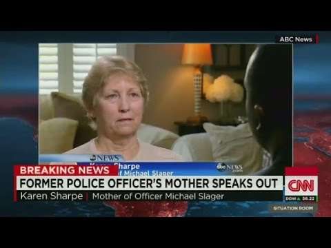 Officer Michael Slager's mother speaks out