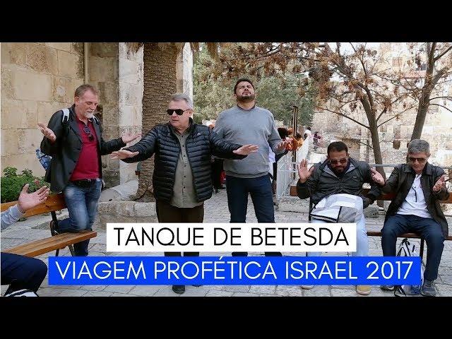 Viagem Profética ISRAEL - Tanque de Betesda - Ministério Intimo do Pai