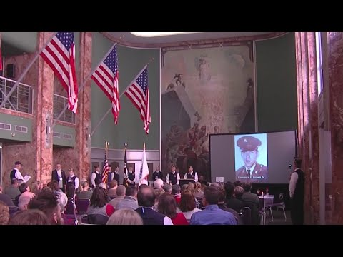 Tom & Becky - Honor Flight Syracuse Honors Families Of Fallen Soldiers With Flags