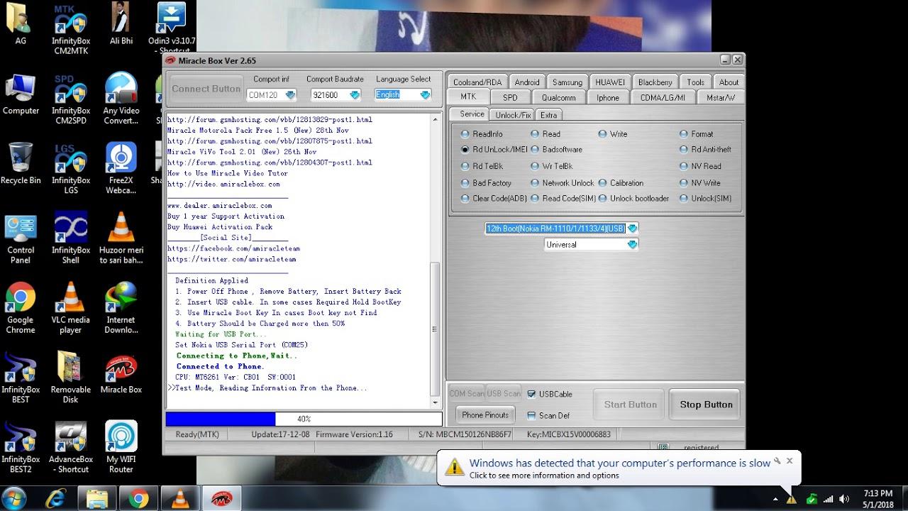 HOW TO nokia TA 1034 security code unlock miracle box jamal akram tv