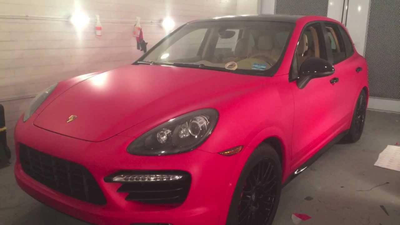 Porsche Cayenne Gts F1 Racing Matte Red Amp Carbon Fiber